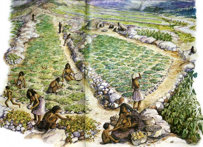 1700s garden